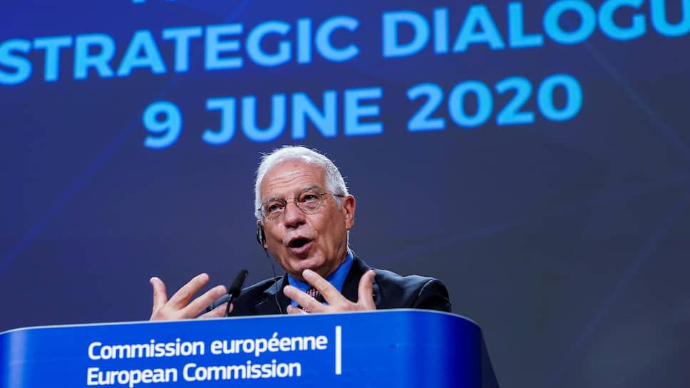 Верховный представитель ЕС по внешней политике и политике безопасности Жозеп Боррель