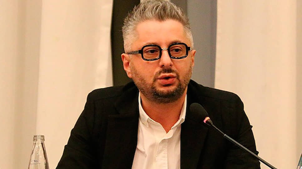 Гендиректор оппозиционной телекомпании «Мтавари Архи» («Главный канал») Ника Гварамия