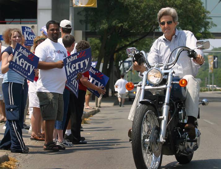 2003 год. Сенатор от штата Массачусетс Джон Керри