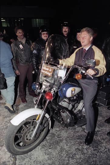 1992 год. 42-й президент США Билл Клинтон