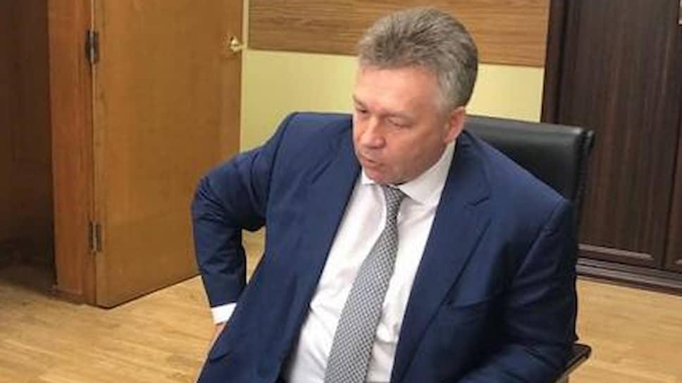 Руководитель ФБУ «Морспасслужба» Андрей Хаустов
