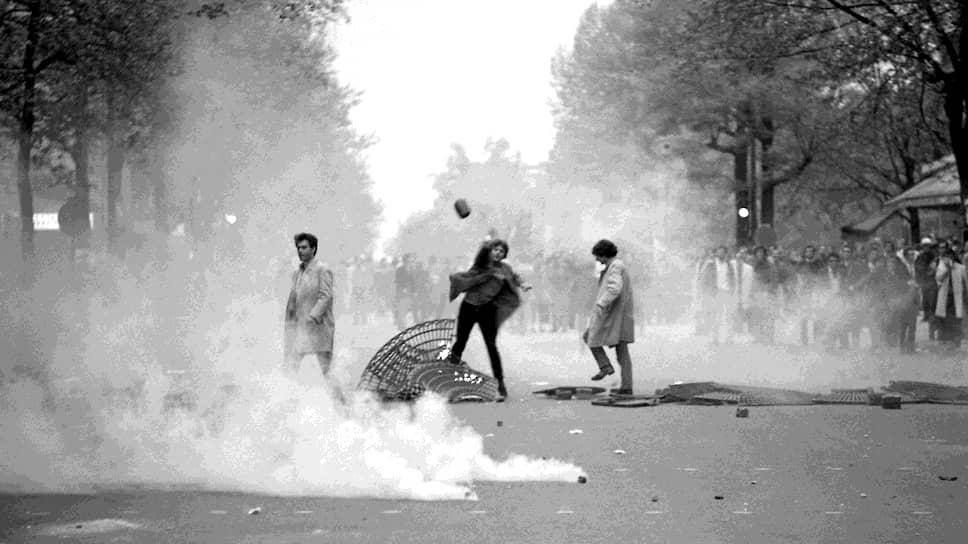 Студенческие выступления в Париже. 1968 год