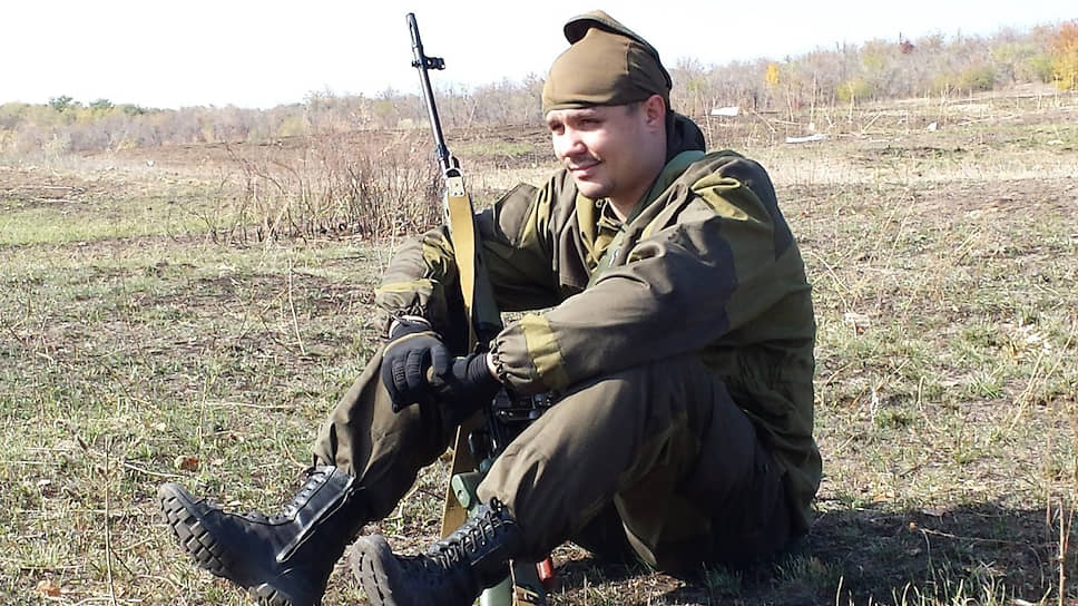 Бывший военнослужащий Денис Карабан