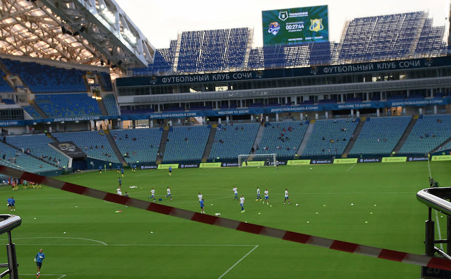 Второй матч тура проходил на стадионе «Фишт» между местным «Сочи» и ФК «Ростов»