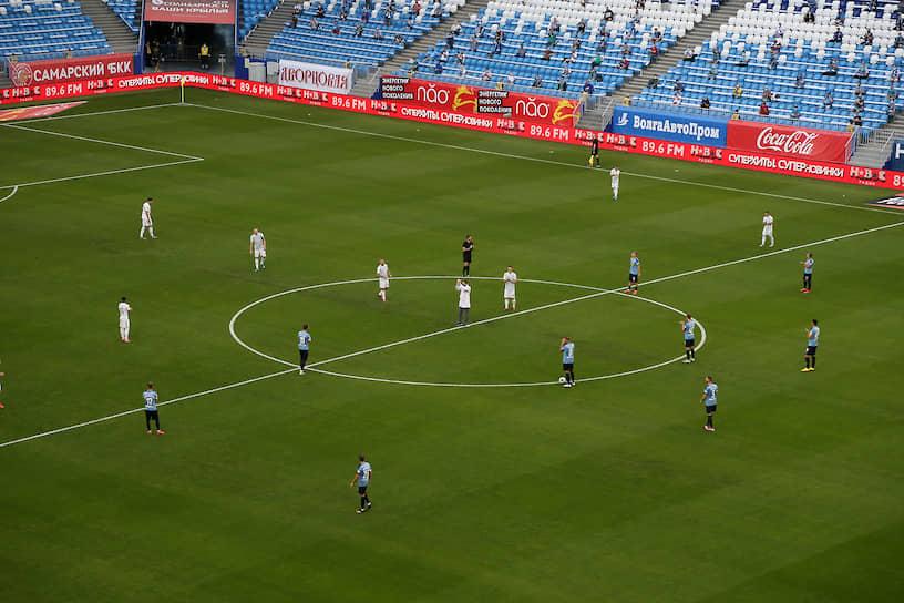 Перед началом матча «Ахмат» занимал последнюю, 16-ю строчку турнирной таблицы, а «Крылья Советов» — 15-ю