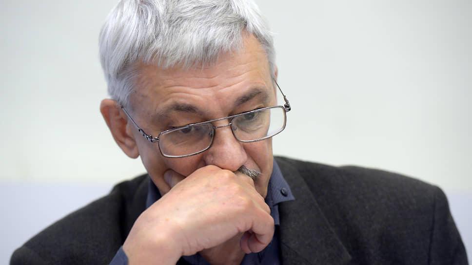 Председатель «Мемориала» Олег Орлов