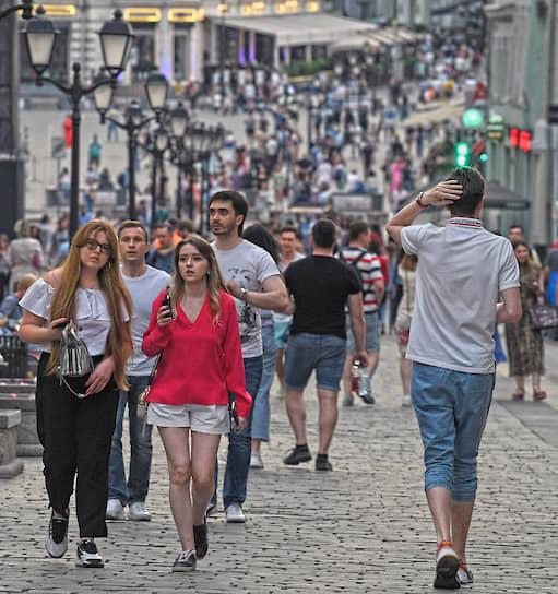Прогулки по улице Кузнецкий мост