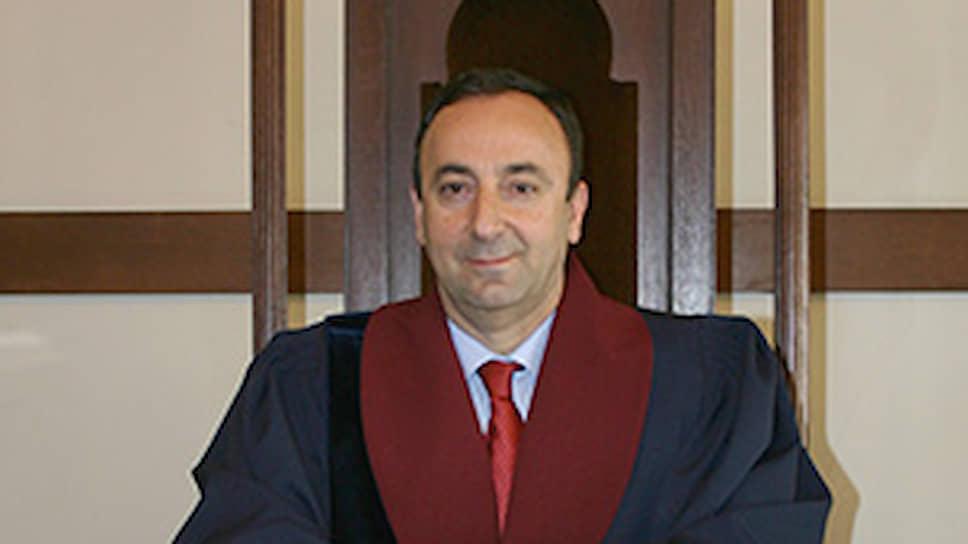 Председатель Конституционного суда Армении Грайр Товмасян