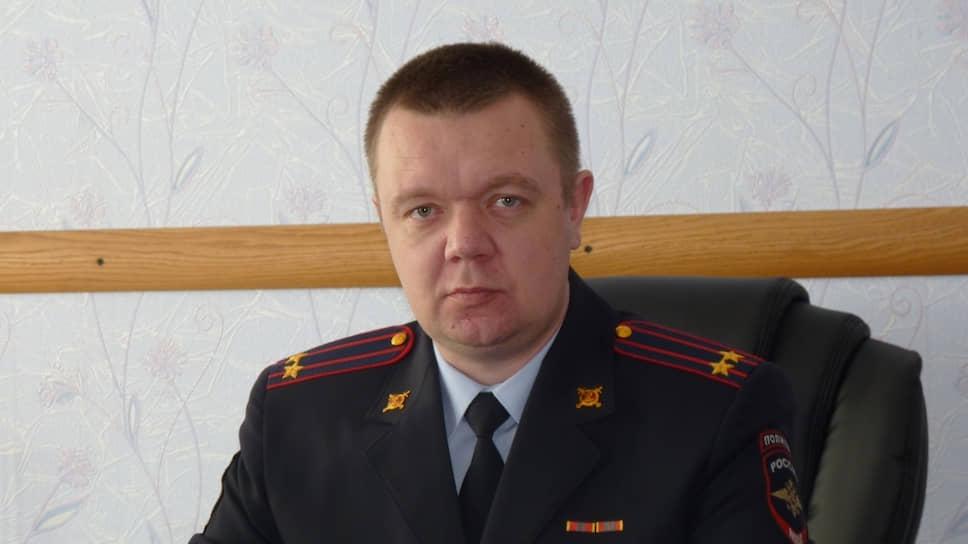 Подполковник полиции Дмитрий Борзенков