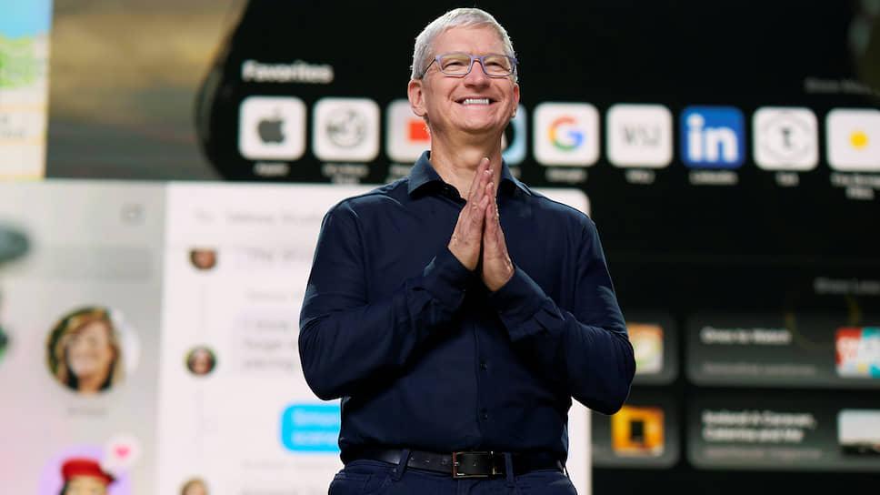 Гендиректор Apple Тим Кук
