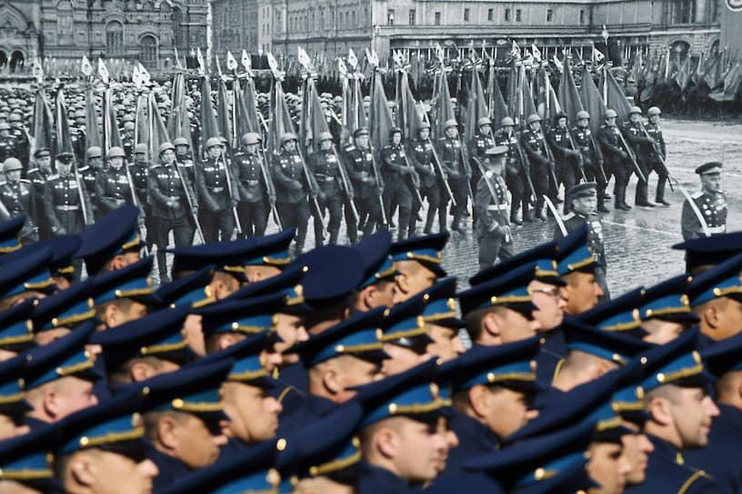 В параде на Красной площади приняли участие более 14 тыс. военнослужащих