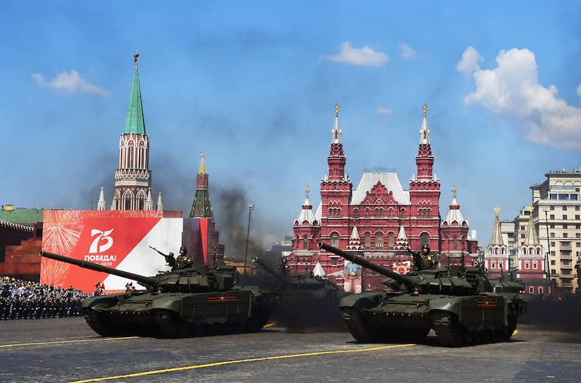 Военная техника на Красной площади