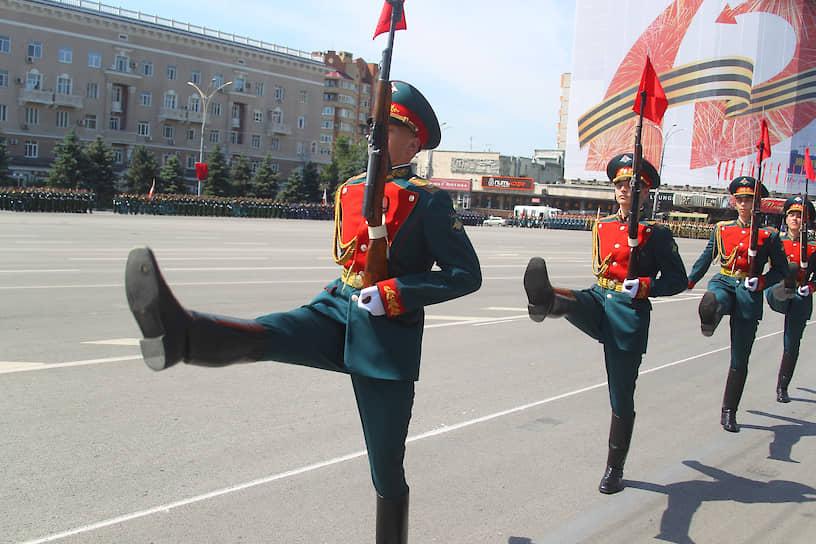 Парад в Ростове-на-Дону