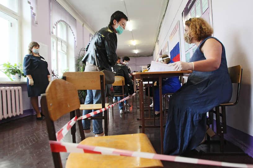 Избирательный участок 1 июля в Нижнем Новгороде
