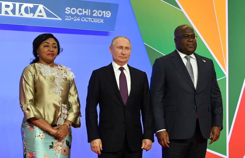 В 2019 году в рамках первого саммита и экономического форума «Россия—Африка» в России впервые побывал президент Демократической Республики Конго