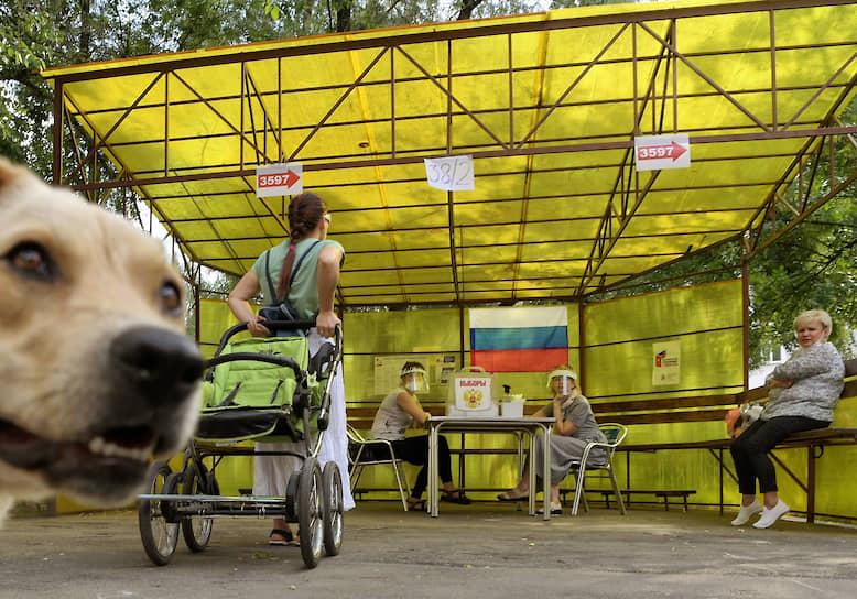 Московская область. Участки во дворах жилых домов в городе Королев