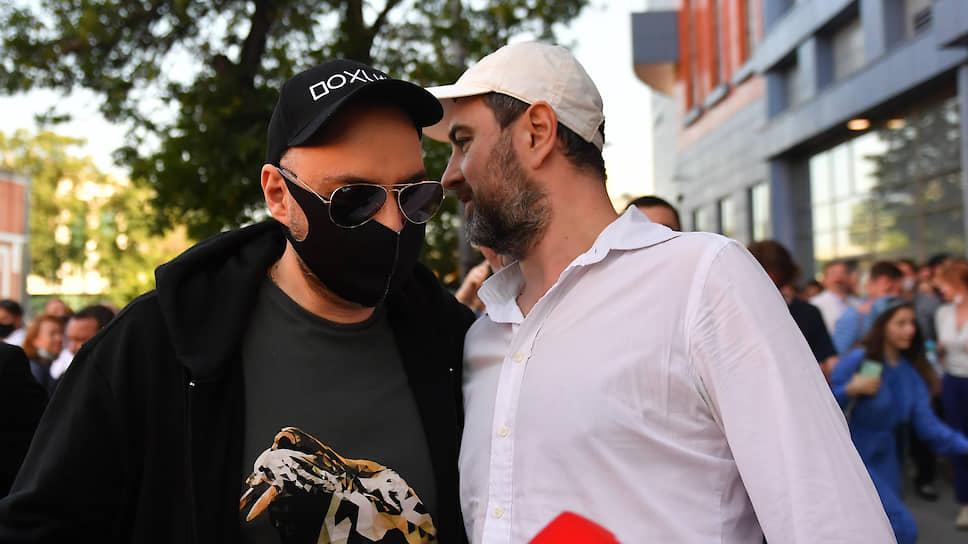 Режиссер Кирилл Серебренников (слева)
