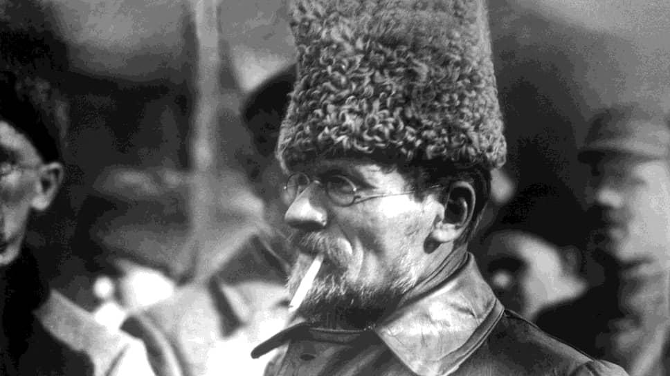 Председатель президиума Верховного совета СССР Михаил Калинин