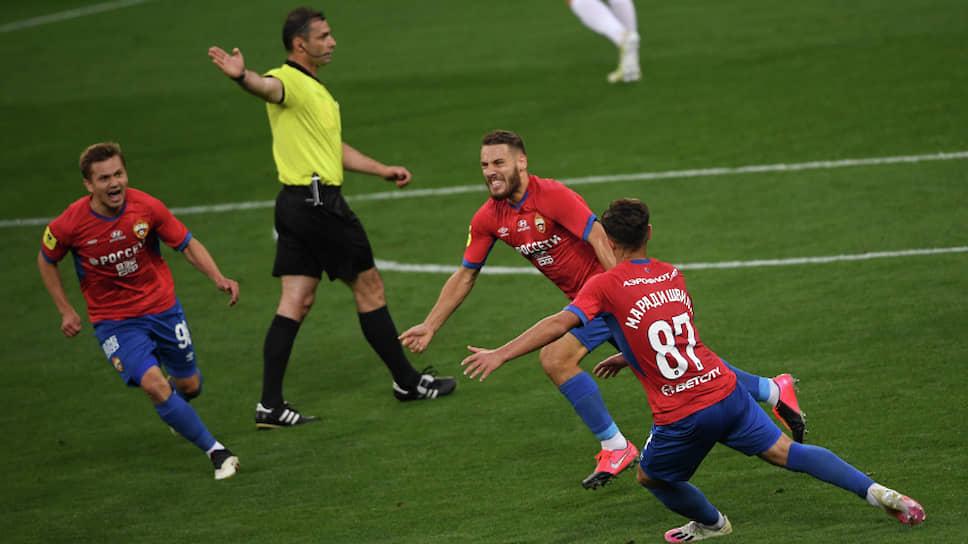 Как ЦСКА вернул голы
