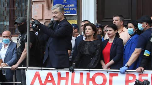 «Надо посадить за решетку — так сажайте»  / Петр Порошенко обвинил власти Украины в политическом преследовании