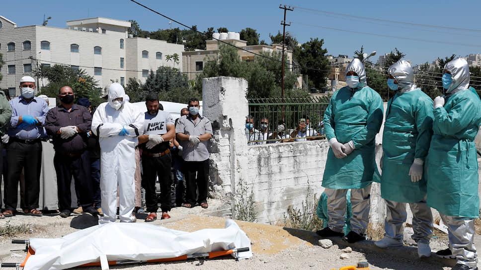 Палестина и Израиль встречают вторую волну