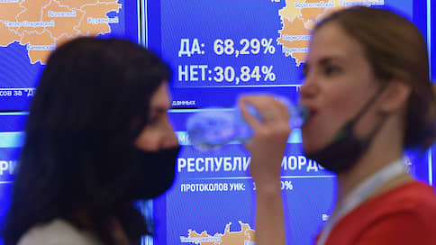 Голосование по-президентски  / Поправки поддержали как Владимира Путина