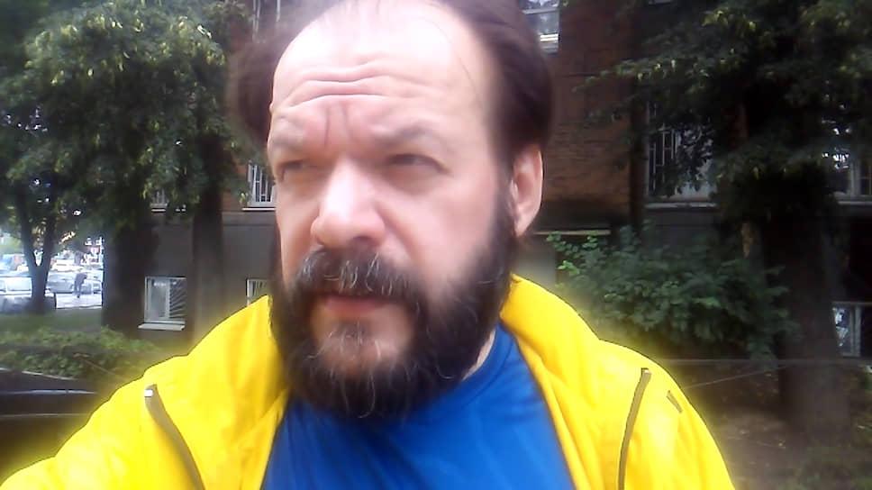 Активист движения «Я — народ» Алексей Холкин