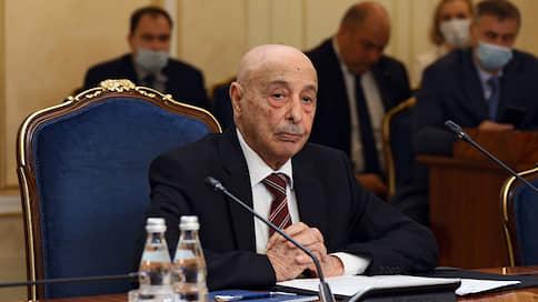 «Россия нам советовала сосредоточиться на мирном урегулировании»  / Агила Салех, спикер Палаты представителей Ливии