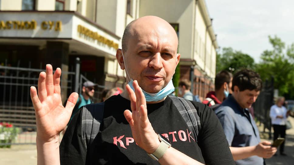 Главред «Медиазоны» Сергей Смирнов
