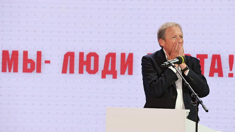 Председатель Партии роста, уполномоченный при президенте России по защите прав предпринимателей Борис Титов
