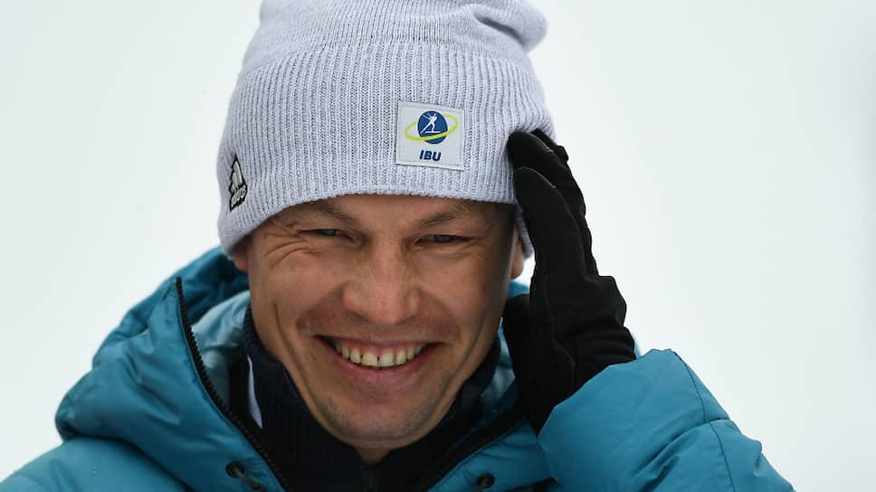 Новый президент Союза биатлонистов России Виктор Майгуров