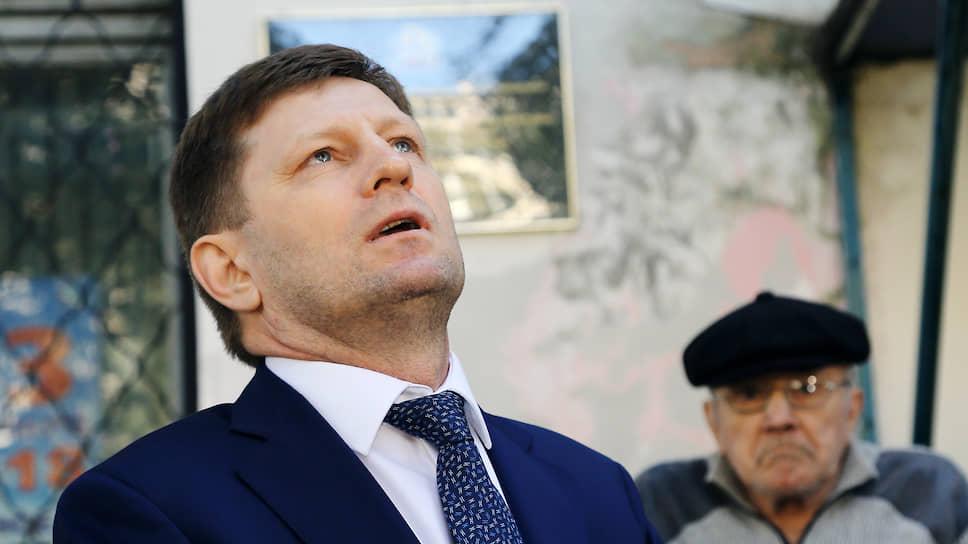 Экс-губернатор Хабаровского края Сергей Фургал