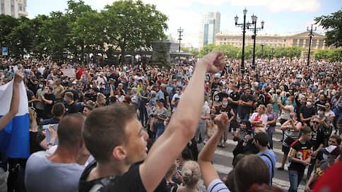 «Забрали у нас столицу, теперь забирают губернатора» / Хабаровский край вышел протестовать против ареста Сергея Фургала