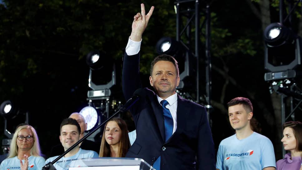 Кандидат в президенты Польши Рафал Тшасковски