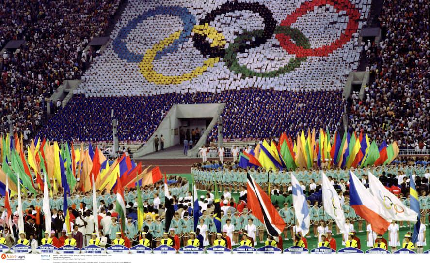 Закрытие Олимпиады прошло в «Лужниках» 3 августа 1980 года