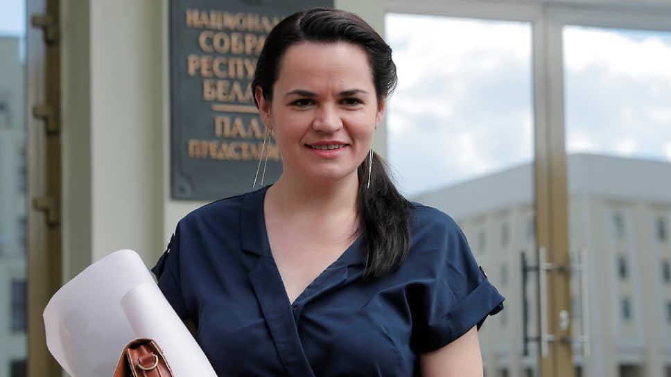 Как Светлана Тихановская объединила белорусскую опозицию