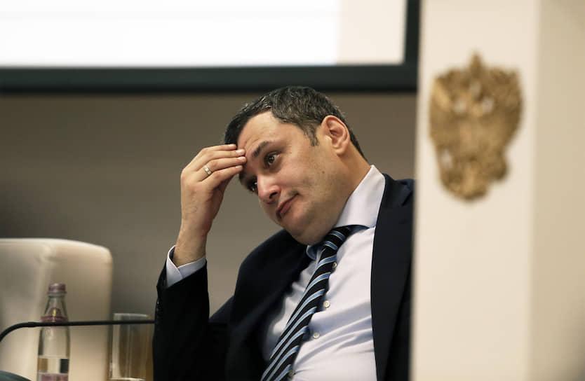 Глава комитета Госдумы по информполитике Александр Хинштейн