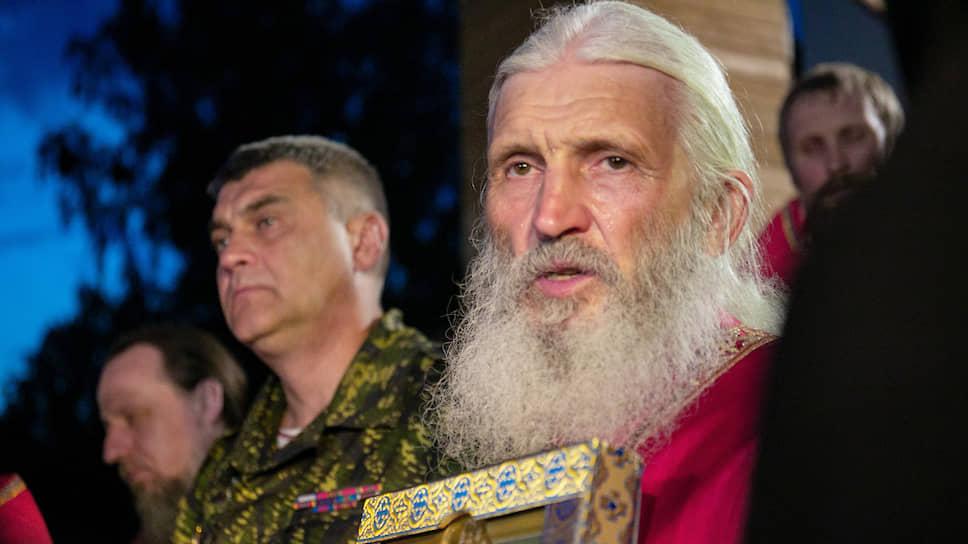 Духовник Среднеуральского женского монастыря схимонах Сергий