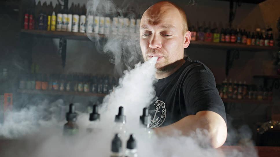 Как законопроект о регулировании электронных сигарет приняли во втором чтении