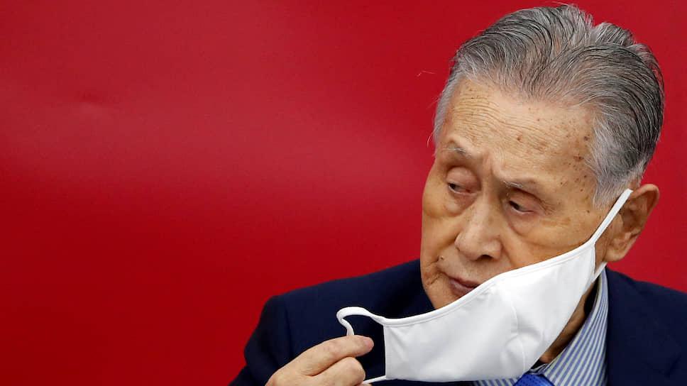 Президент оргкомитета Олимпиады в Токио Йосиро Мори