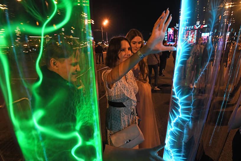 Гости праздника на площадке «Наука #Открывай»