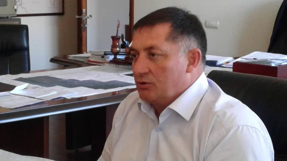 Председатель комитета дорожного хозяйства Северной Осетии Тариэль Солиев