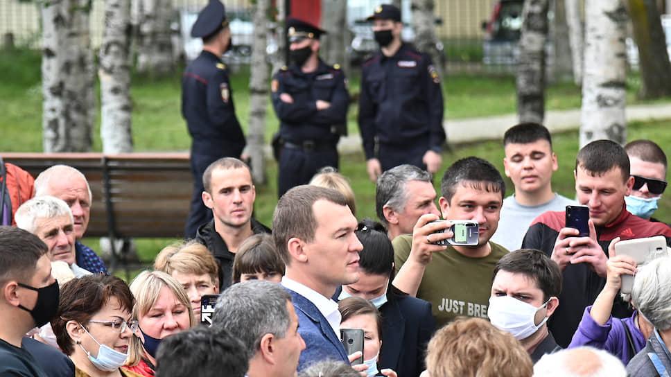 Врио губернатора Михаил Дегтярев — о том, как и чем он воздействует на хабаровчан