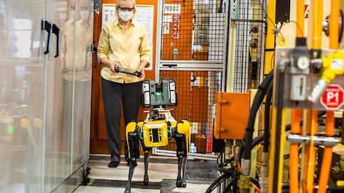 Робот-собака устроился в Ford