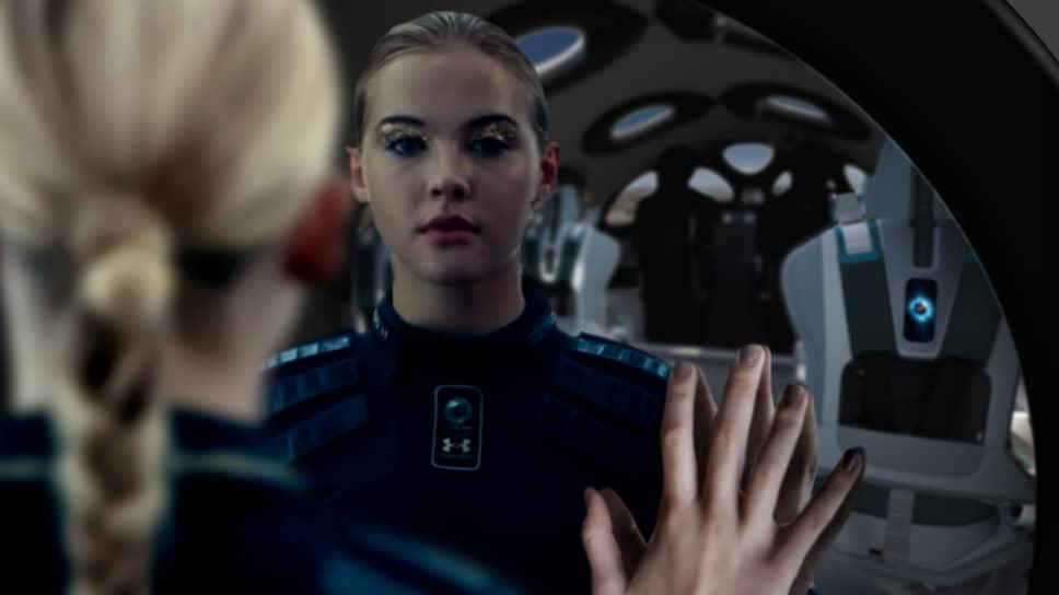 Экипаж состоит из двух пилотов. Перегородка между кабиной пилотов и салоном будет зеркальной, чтобы пассажиры могли видеть себя в условиях невесомости