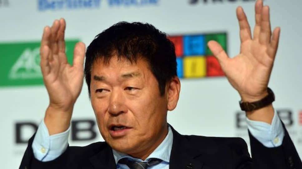 Президент FIG Моринари Ватанабэ