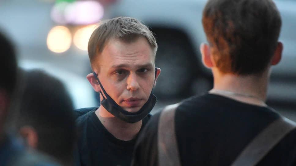 Корреспондент «Медузы» Иван Голунов