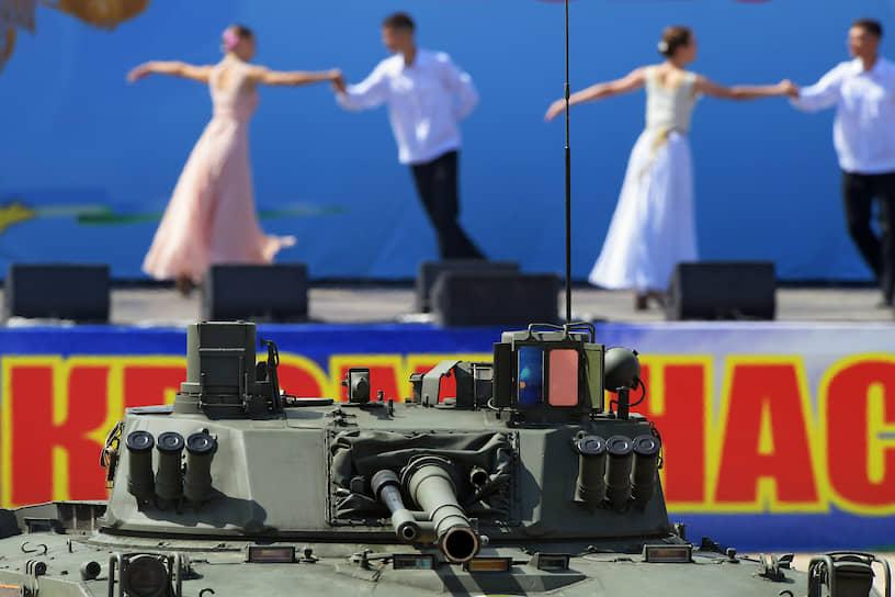Военно-спортивный праздник в Алабино