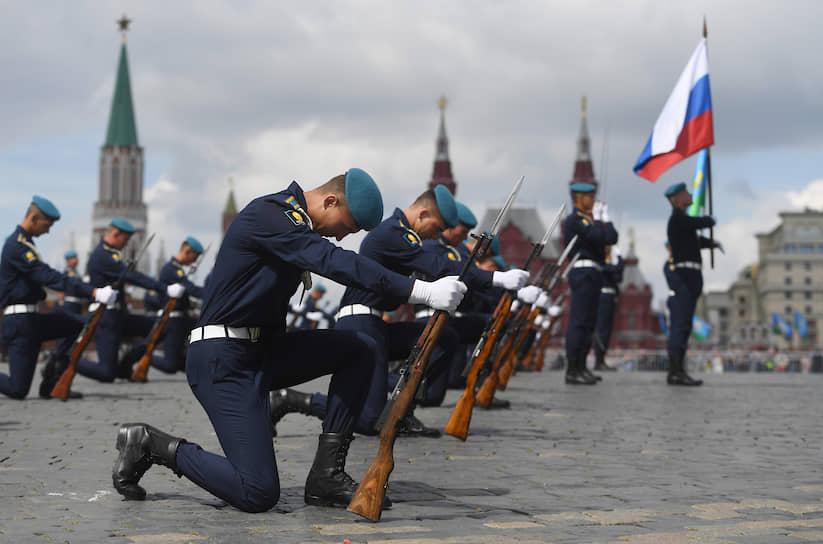 Праздничные мероприятия на Красной площади