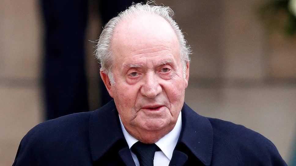 Почетный король Испании Хуан Карлос